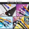 Zhigao Spinning Pen V18 - светящийся мод