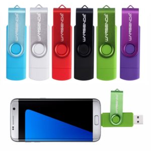 Флешка USB OTG, USB + Android, 8Гб